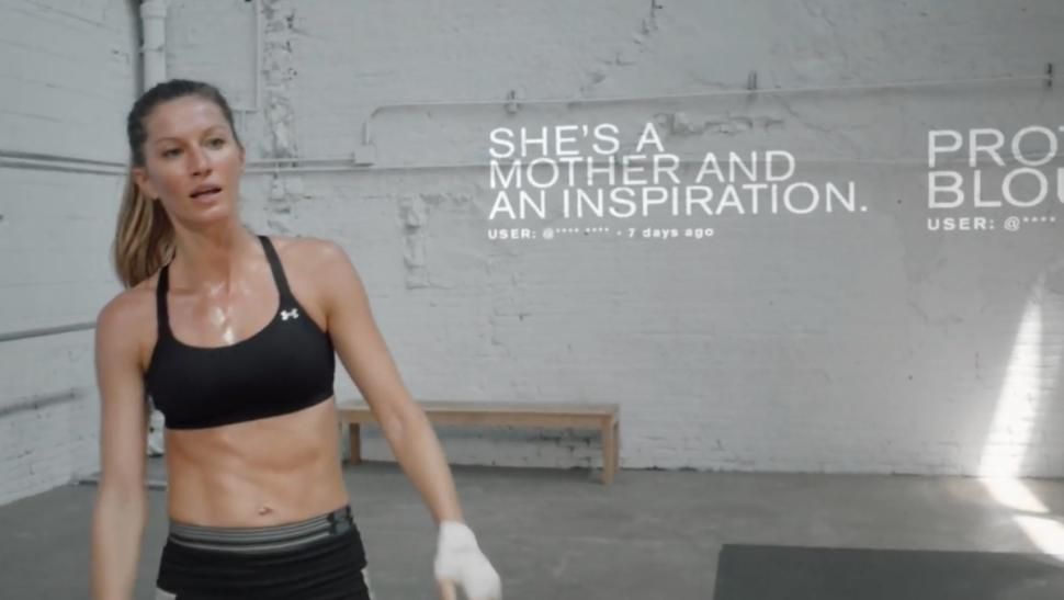 a7d323acb We wanted to represent that range on the site. It's not just about Gisele  blocking out negativity, it's also that she's going to block out the praise  too, ...